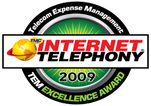 MTS 2009 TEM Excellence Award