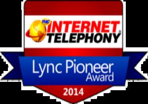 MTS Call Accounting for Microsoft Lync Pioneer Award Winner